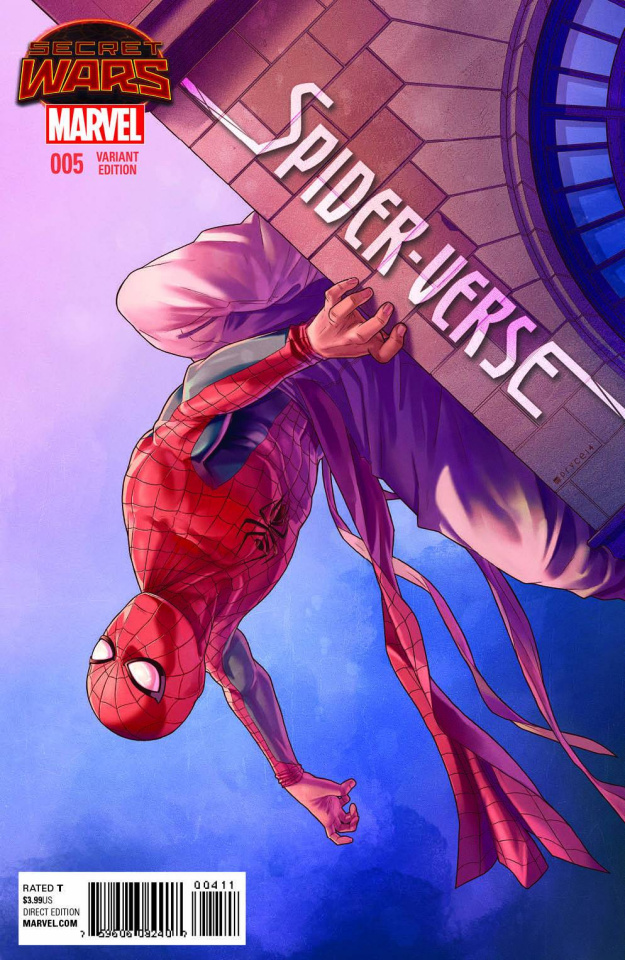 Spider-Verse #5 (Campbell Cover)
