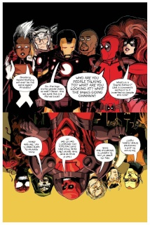 Avengers and X-Men: AXIS #1 (Deadpool Cover)