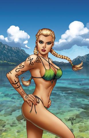 Grimm Fairy Tales Presents Swimsuit Edition 2019 #1 (Salonga Cover)