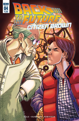Back to the Future: Citizen Brown #4