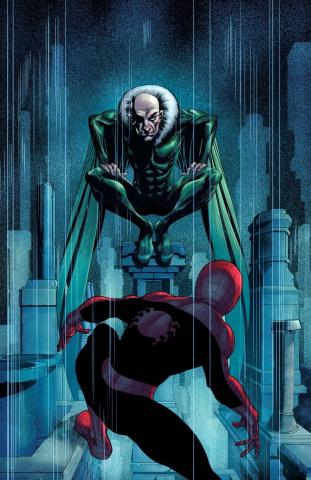 Uncanny X-Men #13 (Granov Spider-Man Villains Cover)