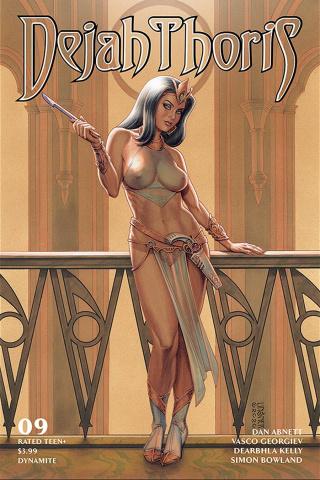 Dejah Thoris #9 (Linsner Cover)