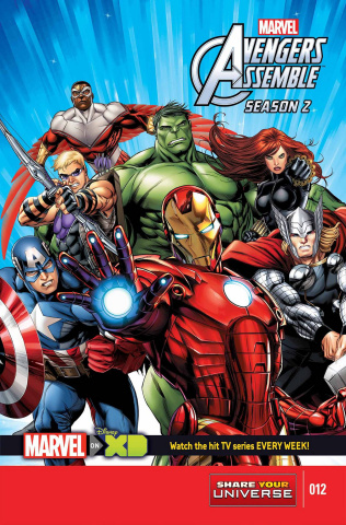 Marvel Universe: Avengers Assemble, Season Two #12