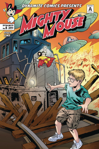 Mighty Mouse #5 (Lima Cover)
