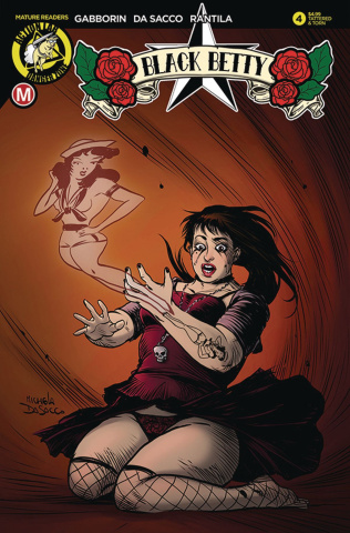 Black Betty #4 (Da Sacco Tattered & Torn Cover)