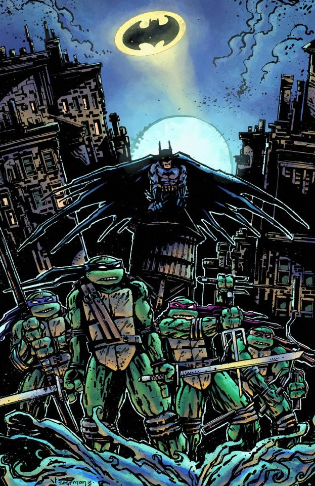 Batman / Teenage Mutant Ninja Turtles #1 (Variant Cover)