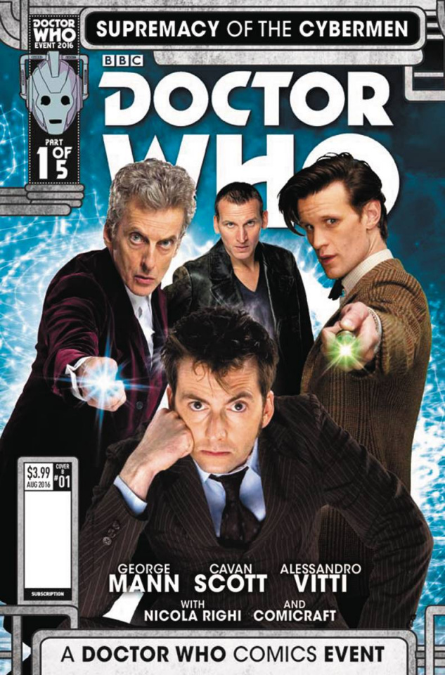 Doctor Who: Supremacy of the Cybermen #1 (Photo Cover)
