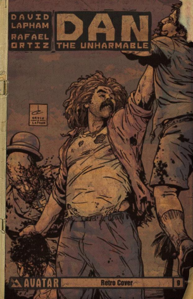 Dan the Unharmable #9 (Retro Cover)