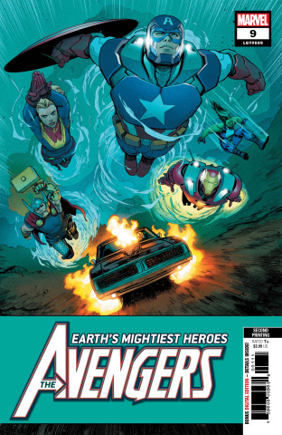 Avengers #9 (Marquez 2nd Printing)