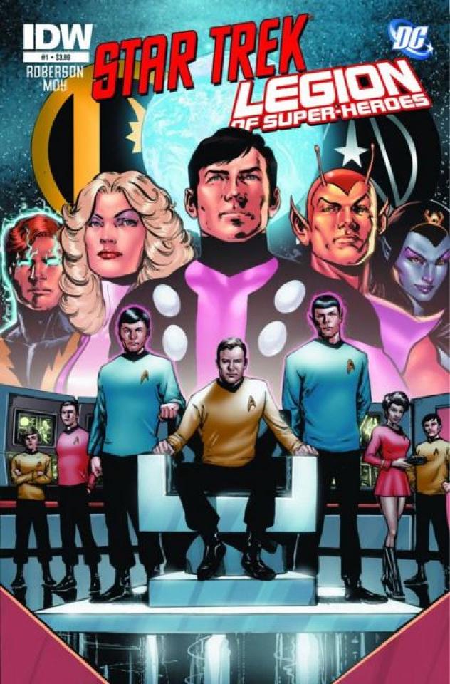 Star Trek / The Legion of Super Heroes #1