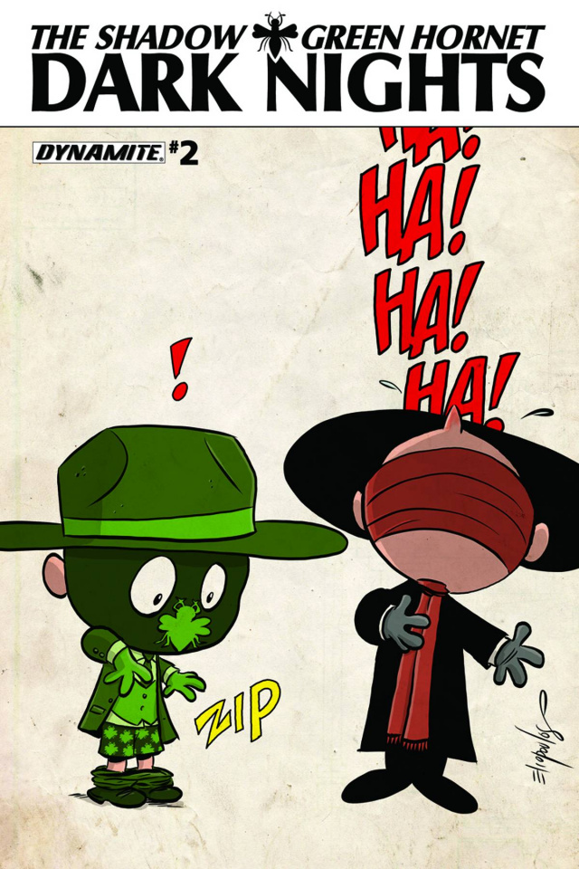 The Shadow / Green Hornet: Dark Nights #2 (Subscription Cover)