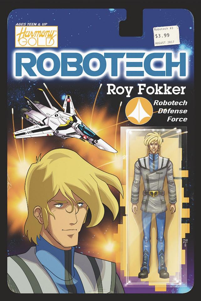 Robotech #4 (Action Figure Cover)