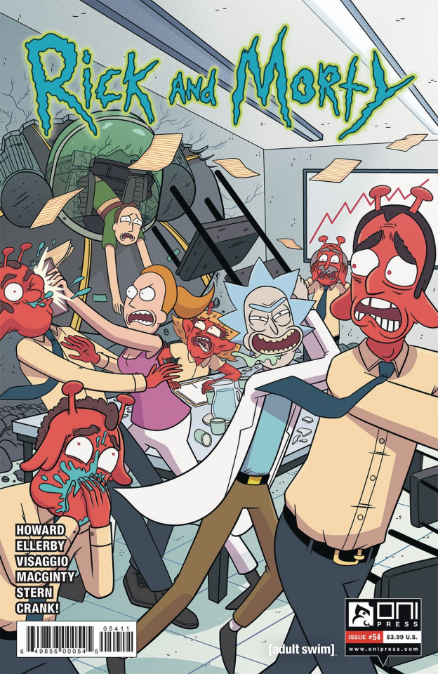Rick and Morty #54 (Ellerby Cover)
