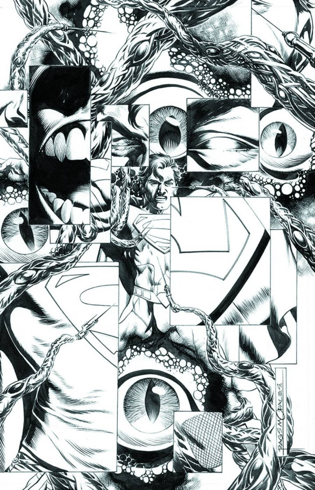 Action Comics #18 (Black & White Cover)
