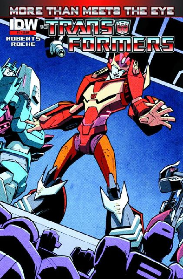 The Transformers: More Than Meets the Eye #1 (2nd Printing)