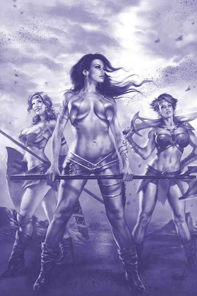 Dejah Thoris #2 (25 Copy Parrillo Virgin Tint Cover)