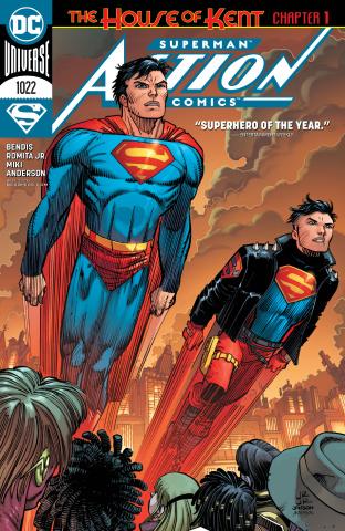 Action Comics #1022 (Parrillo Cover)