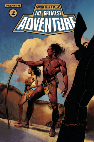 The Greatest Adventure #2 (Nord Cover)