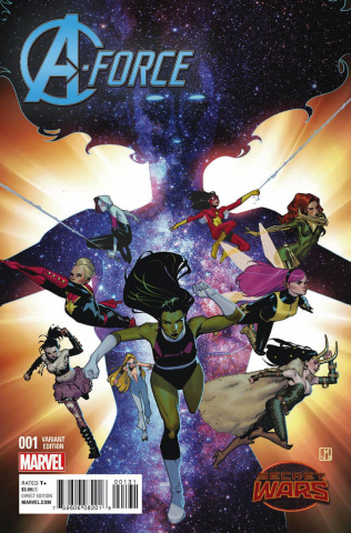 A-Force #1 (Molina Cover)