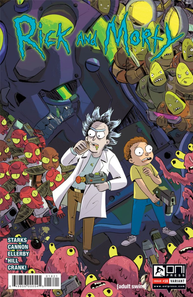 Rick and Morty #18 (Chin Cover)