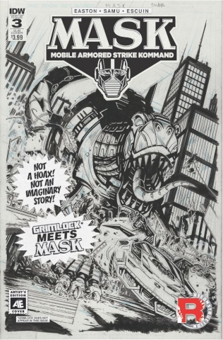 M.A.S.K.: Mobile Armored Strike Kommand #3 (Artist's Edition)