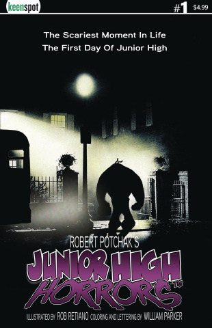 Junior High Horrors #1 (Exorcist Parody Cover)