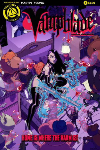 Vampblade #3 (Young Cover)
