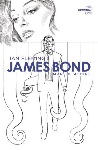 James Bond: Agent of SPECTRE #2 (20 Copy Phillips B&W Cover)