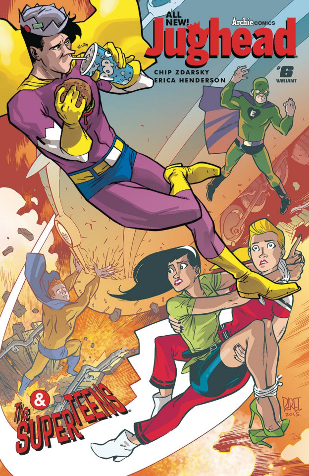 Jughead #6 (Ramon Perez Cover)