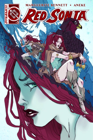 Red Sonja #3 (Sauvage Cover)