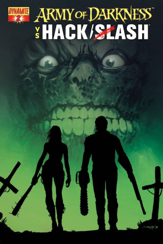 Army of Darkness vs. Hack/Slash #2 (Seeley Cover)