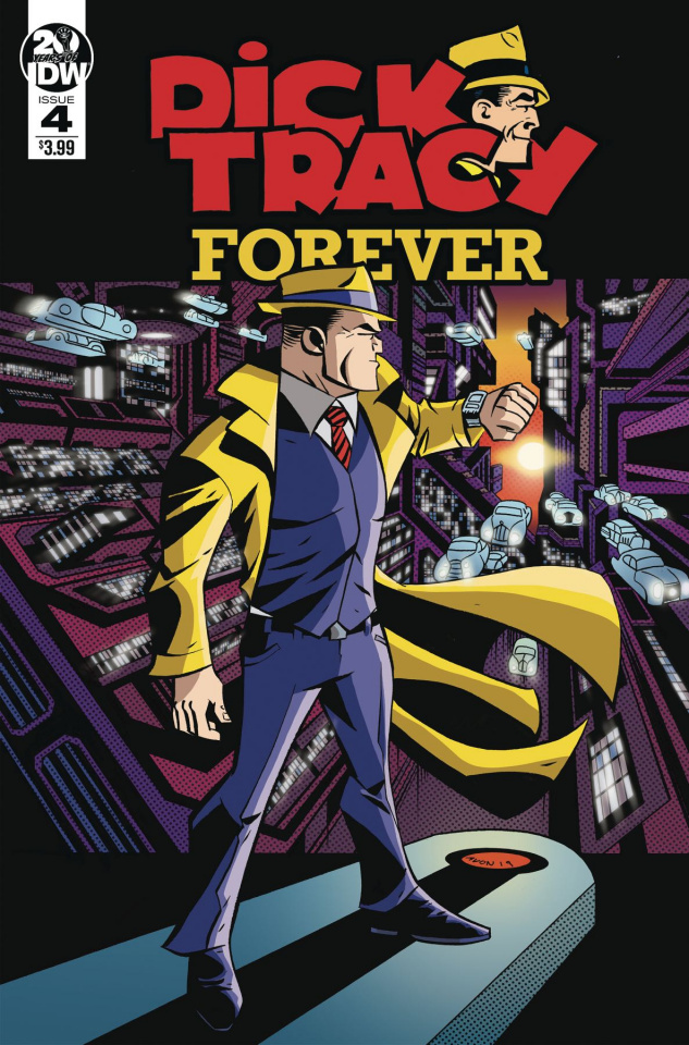 Dick Tracy Forever #4 (Oeming Cover)
