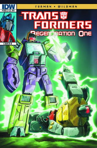 The Transformers: Regeneration One #88