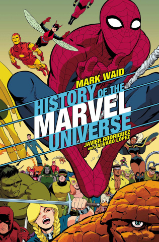 History of the Marvel Universe #3 (Rodriguez Cover)