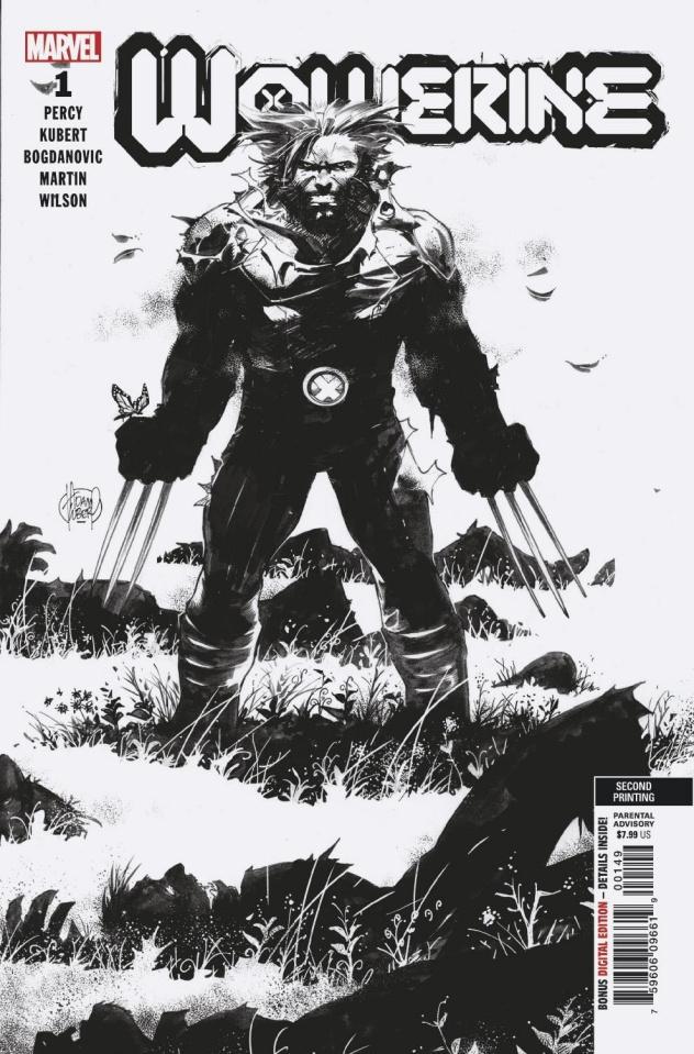 Wolverine #1 (Kubert Sketch 2nd Printing)