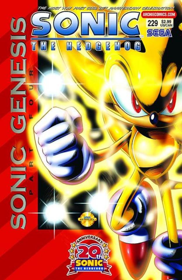 Sonic the Hedgehog #229