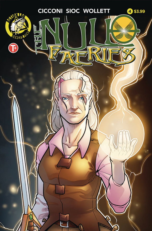 The Null Faeries #4 (Cicconi Cover)