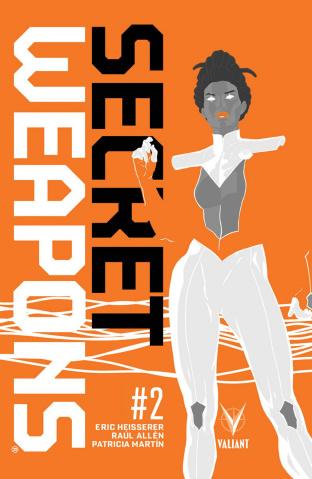 Secret Weapons #2 (Allen Cover)