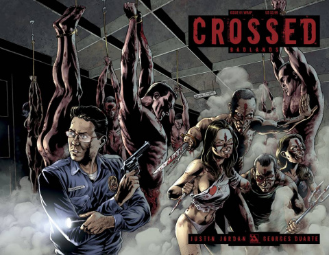 Crossed: Badlands #61 (Wrap Cover)