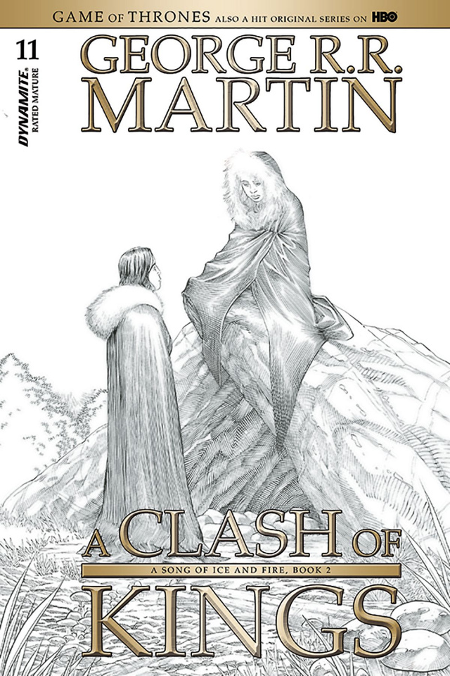 A Game of Thrones: A Clash of Kings #11 (10 Copy Miller B&W Cover)