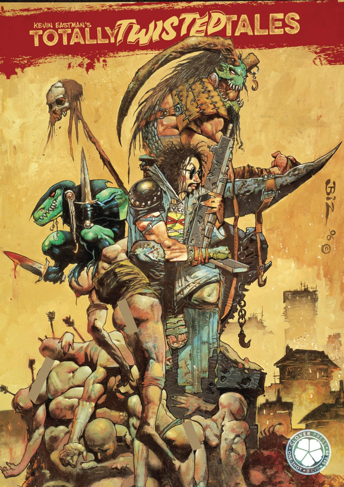 Kevin Eastman's Totally Twisted Tales Vol. 1 (Bisley Cover)