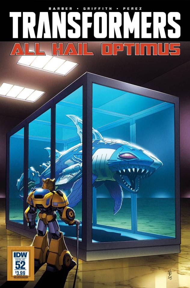 The Transformers #52 (Art Appreciation Cover)