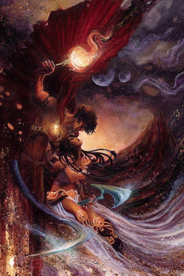 Dejah Thoris #4 (Rare Nen Virgin Art Cover)