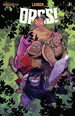 ORCS! #1 (Sweeney Boo Cover)