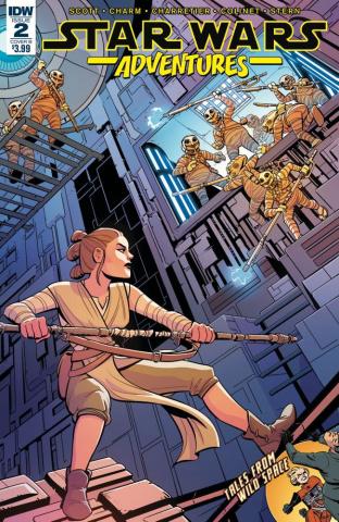 Star Wars Adventures #2 (Charretier Cover)