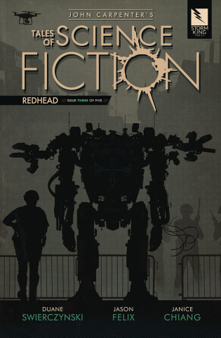 Tales of Science Fiction: Redhead #3