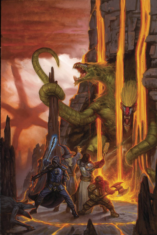 Stranger Things and Dungeons & Dragons #2 (Gist Cover)