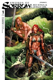 Swords of Sorrow: Red Sonja & Jungle Girl #1 (Anacleto Cover)