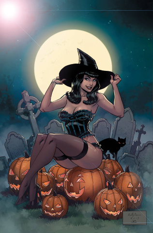Bettie Page Halloween Special (Metal Cover)