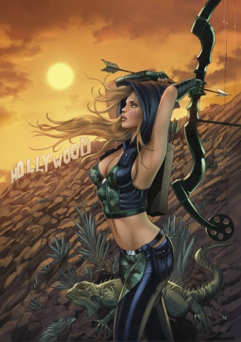 Grimm Fairy Tales: Robyn Hood #7 (Kotkin Hollywood Cover)
